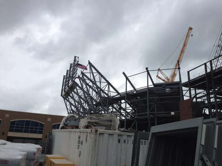 Kyle Field renovations as of May 12, 2014. Photo: San Antonio Express-News