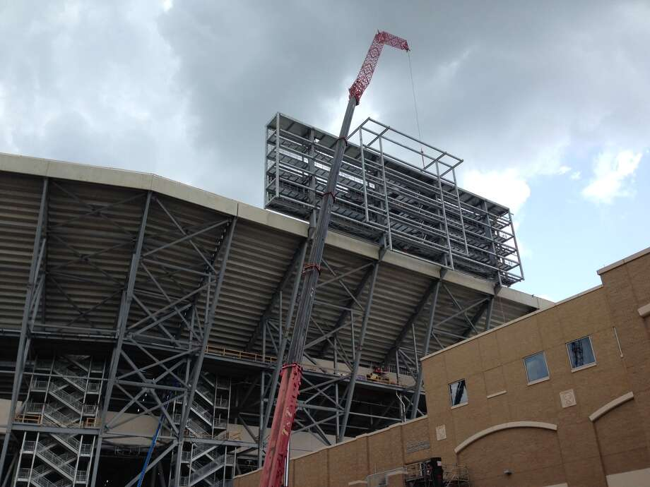 The Texas A&M Aggies' stadium, Kyle Field, is undergoing a $450 million renovation, set to be completed by the 2015 season. Here's a look at the changes so far.PHOTO: A look at the construction at Kyle Field on July 3, 2014. Photo: Brent Zwerneman, Houston Chronicle