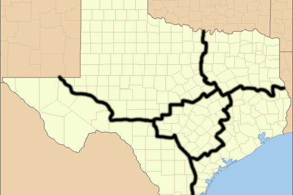 """ Texas Locator Map "" by US Census, Ruhrfisch - taken from US Census website  [1]  and modified by  User:Ruhrfisch . Licensed under Public domain via  Wikimedia Commons ."