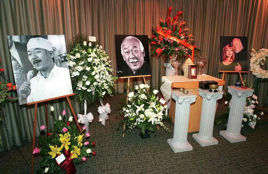 Morita died in 2005 at age 73 of kidney failure. Photo: Ethan Miller, Getty / 2005 Getty Images