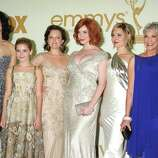 """Heller (far right), 67, has since appeared in several TV shows, movies and stage productions, but most recently is acclaimed for her six-episode turn as Miss Blankenship on """"Mad Men."""""""