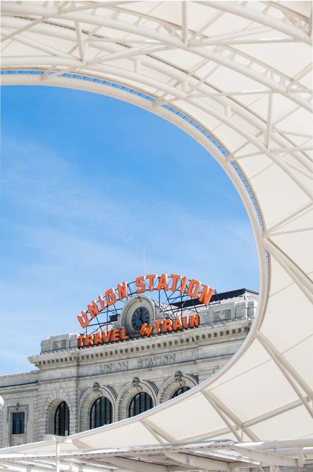 Denver's Union Station development opens officially July 26. It houses the Crawford Hotel, which welcomed its first guests July 12. Photo: Ellen Jaskol