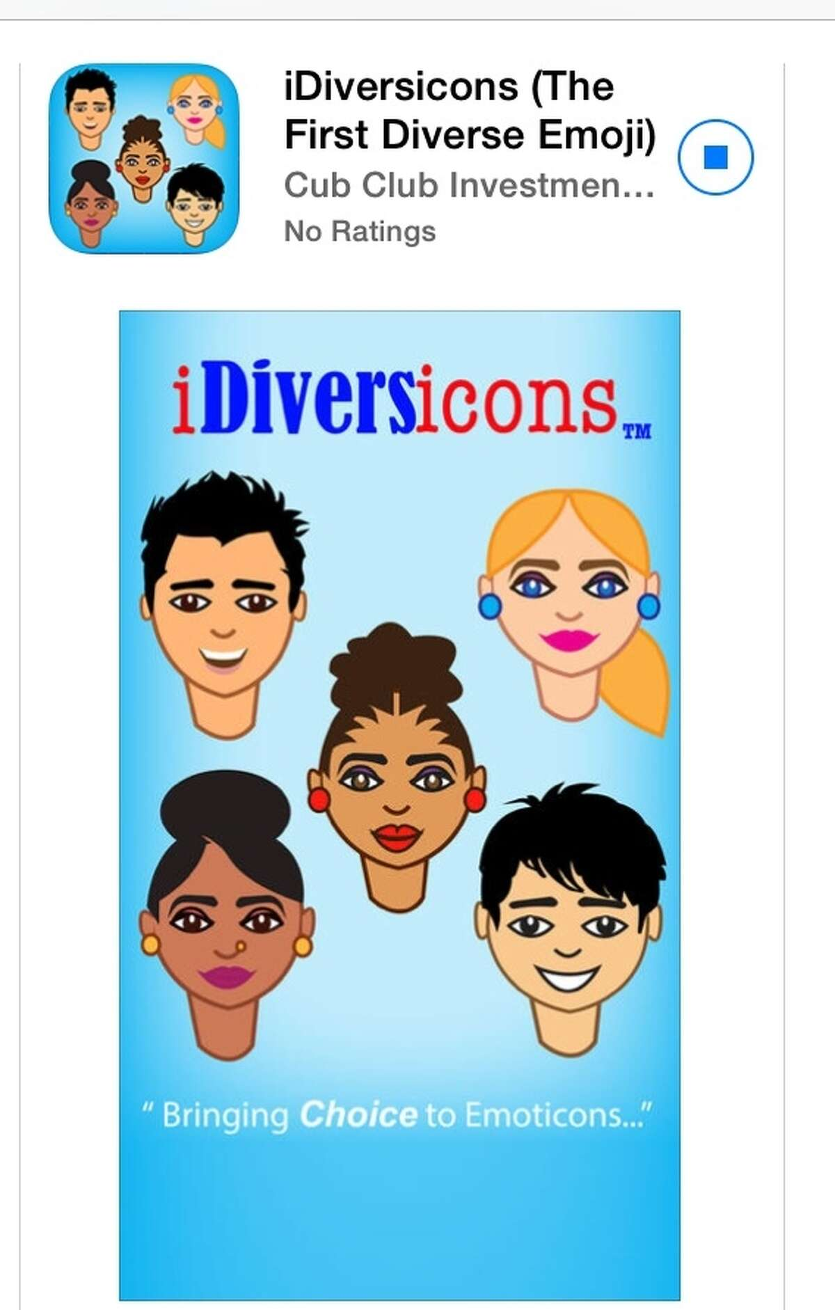 iDiversicons are currently available via their app in Apple's app store or for Android in GooglePlay. Click through for a look at some of their unique icons.