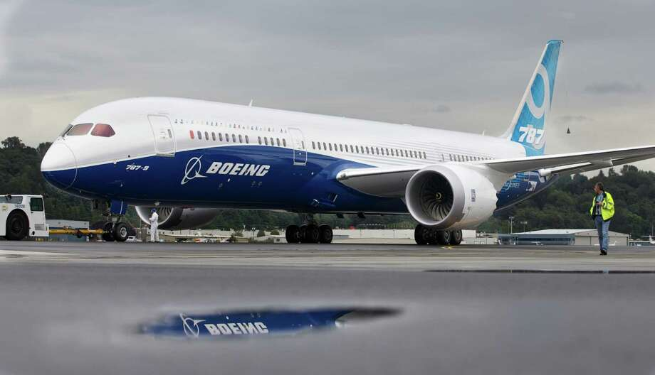 SEATTLE, WASHINGTON  - SEPTEMBER 17: A Boeing 787-9 Dreamliner taxis after concluding its first flight September 17, 2013 at Boeing Field in Seattle, Washington. The 787-9 is twenty feet longer than the original 787-8, can carry more passengers and more fuel. Photo: Stephen Brashear, Getty Images / 2013 Getty Images