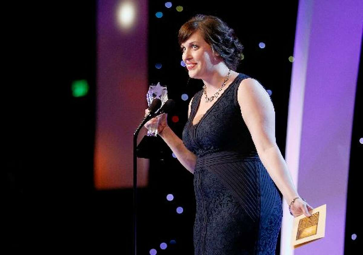 Actress Allison Tolman accepts the award for best supporting actress in a movie or mini-series onstage during the fourth annual Critics' Choice Television Awards at The Beverly Hilton Hotel on June 19, in Beverly Hills, California. Actress Allison Tolman accepts the award for best supporting actress in a movie or mini-series onstage during the fourth annual Critics' Choice Television Awards at The Beverly Hilton Hotel on June 19, in Beverly Hills, California.