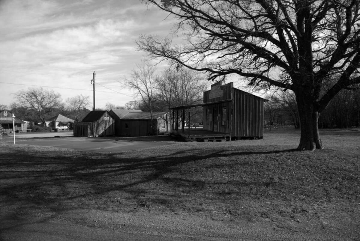 A general store at The Grove, Texas.