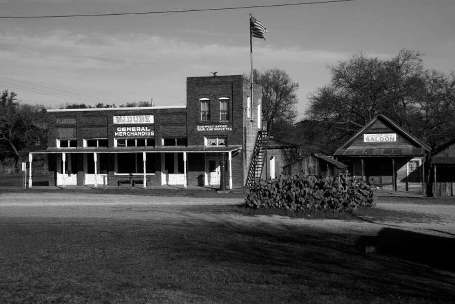 Main Street in the town of The Grove, Texas. Photo: Courtesy Gary Nicholson