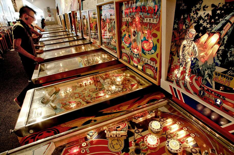 Even the Pacific Pinball Museum in Alameda is involved in Beer Week. Photo: Michael Macor, The Chronicle