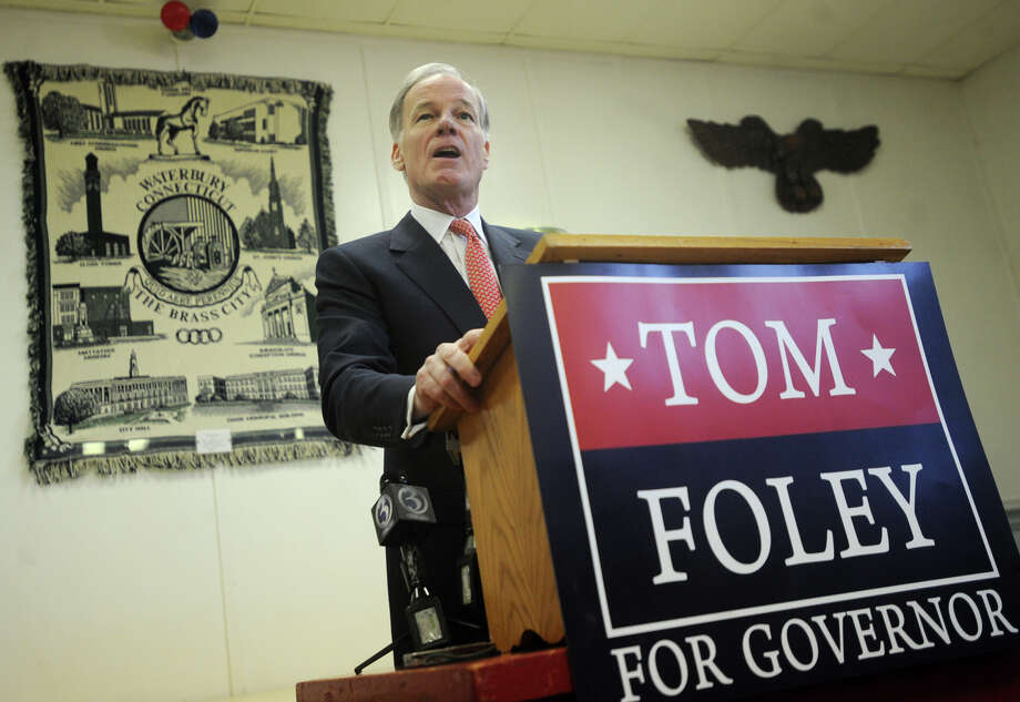 Republican Tom Foley announces his plans to run for governor in 2014 at VFW Post 201 in Waterbury, Conn. on Wednesday, January 29, 2014. Photo: Brian A. Pounds / Connecticut Post