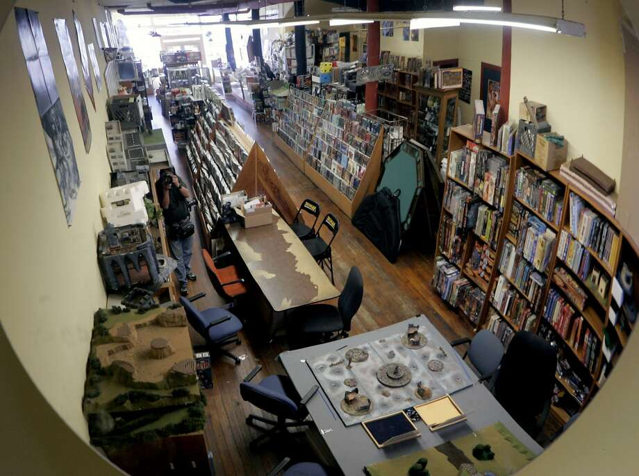 Gamescape.This game shop provides everything from classic board games to modern role playing games to collectible card games. The helpful staff will give you the best recommendations to help you filter the store's huge selection. Pull up a chair and join one of their themed game nights that includes board games, Magic the Gathering and Dungeons and Dragons. Gamescape is located at 333 Divisadero St., S.F. Photo: Paul Chinn, SFC
