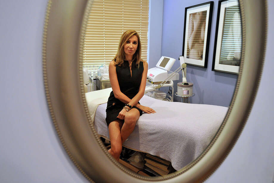 Marria Pooya is the managing partner at Greenwich Medical Skincare and Laser Spa in Old Greenwich, Conn. The business is planning to move to the Riverside Commons shopping mall in early August. With the new location, the company will have more rooms and will expanded its retail footprint. Photographed on Tuesday, July 15, 2014. Photo: Jason Rearick / Stamford Advocate