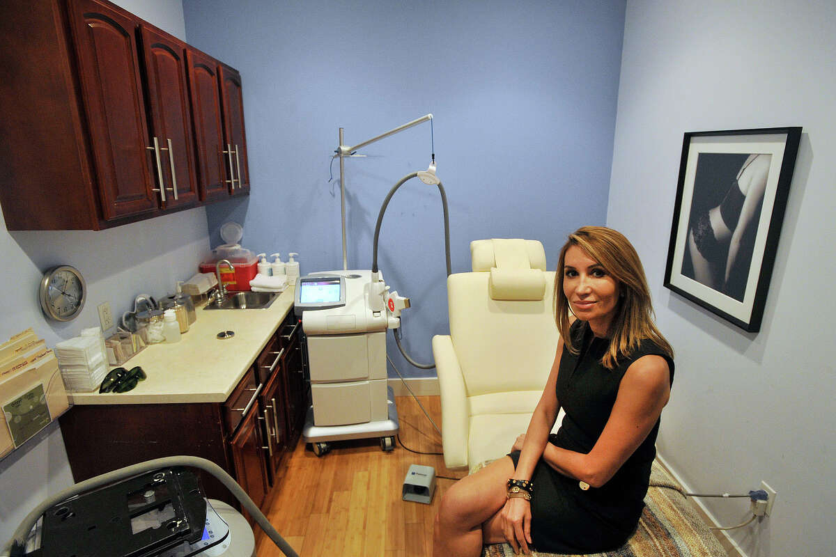 Marria Pooya is the managing partner at Greenwich Medical Skincare and Laser Spa in Old Greenwich, Conn. The business is planning to move to the Riverside Commons shopping mall in early August. With the new location, the company will have more rooms and will expanded its retail footprint. Photographed on Tuesday, July 15, 2014.