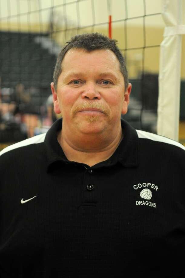 "John Cooper School Head Volleyball Coach Jim ""Smoki"" Richardson Photo: Jerry Baker, Freelance"