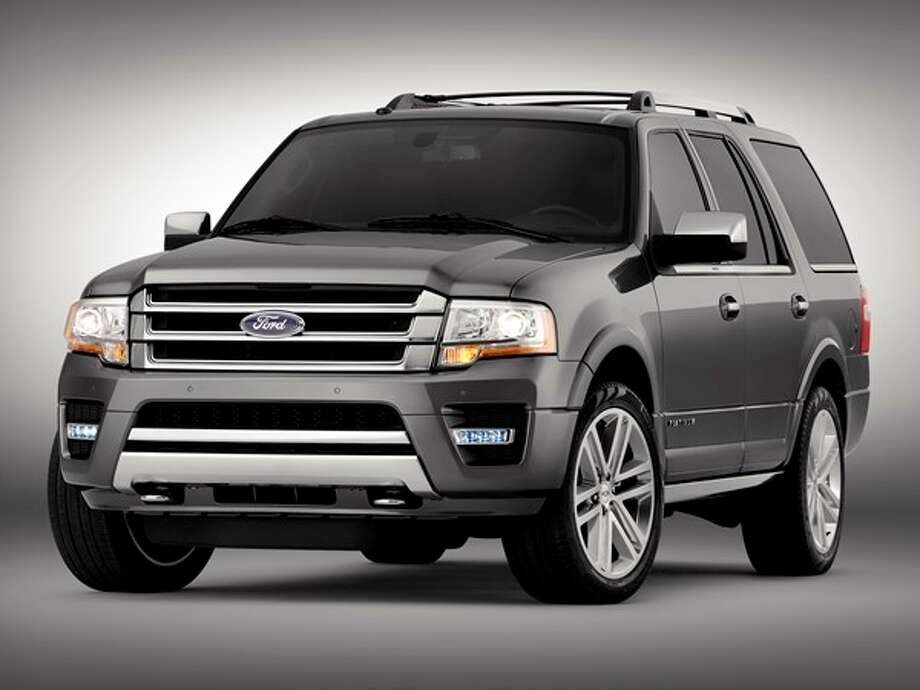 The 2015 Ford Expedition Photo: Kelley Blue Book
