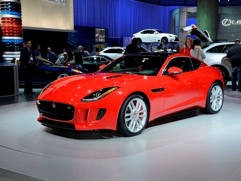 The 2015 Jaguar F-Type Coupe Photo: Kelley Blue Book