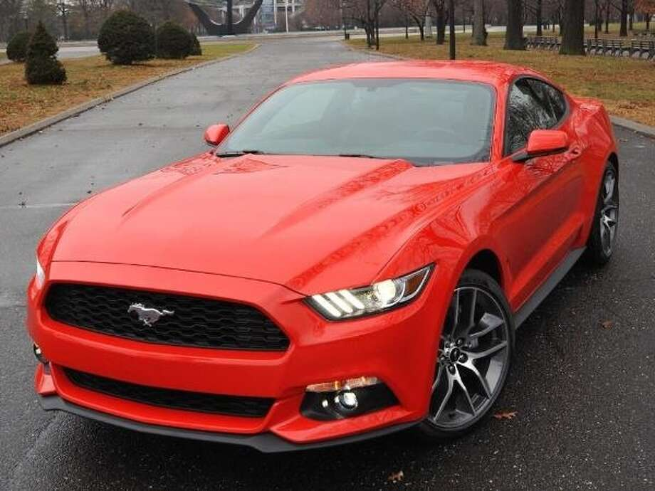 The 2015 Ford Mustang Photo: Kelley Blue Book