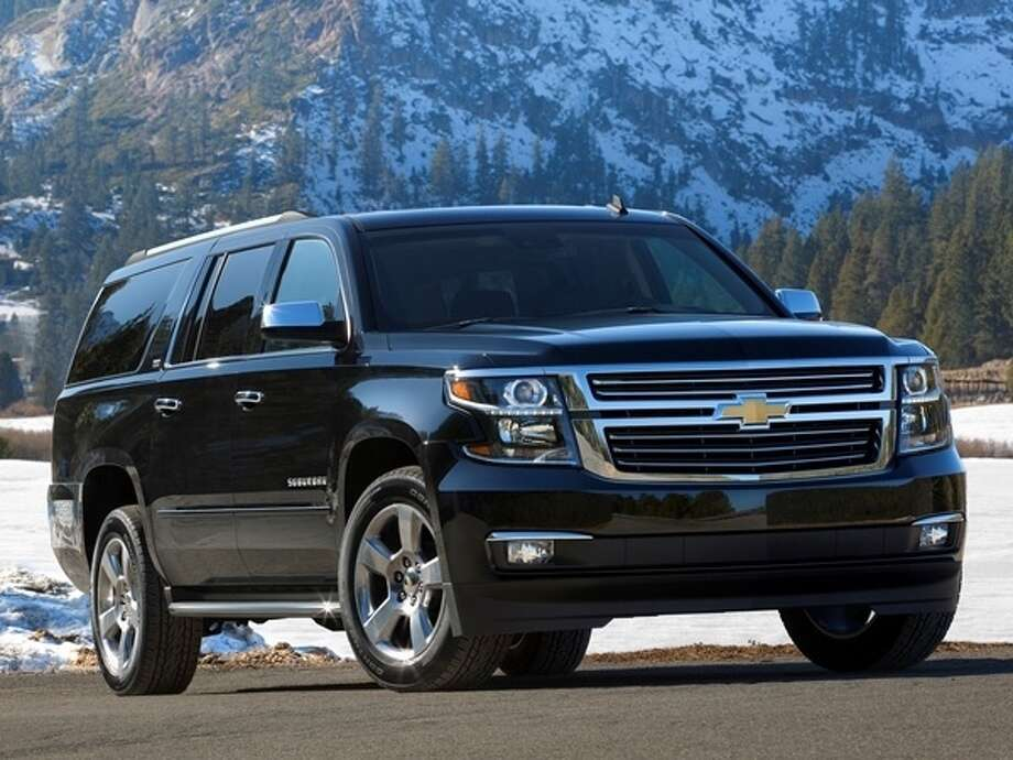 The 2015 Chevrolet Suburban Photo: Kelley Blue Book