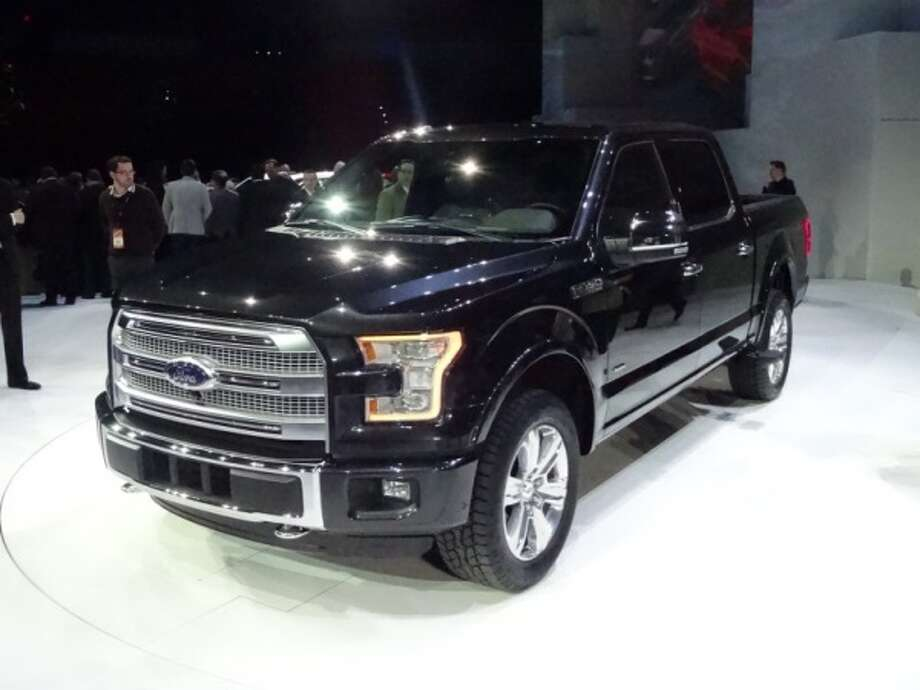 The 2015 Ford F-150 Photo: Kelley Blue Book