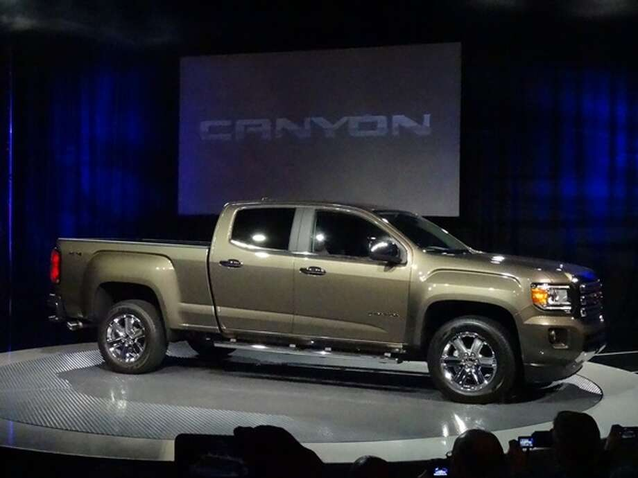 The 2015 GMC Canyon Photo: Kelley Blue Book