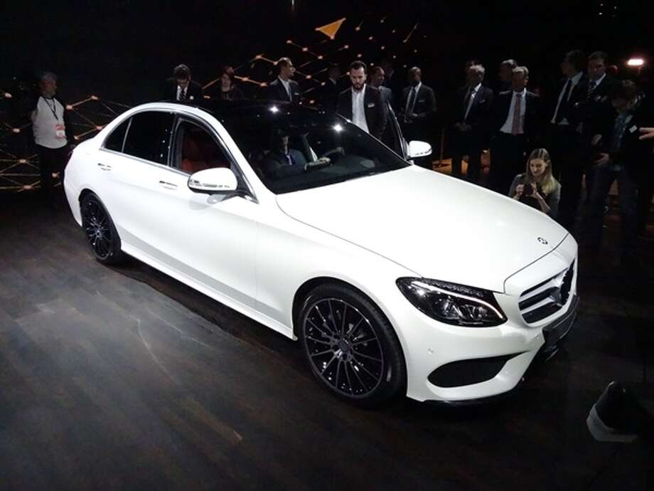 The 2015 Mercedes-Benz C-Class Photo: Kelley Blue Book