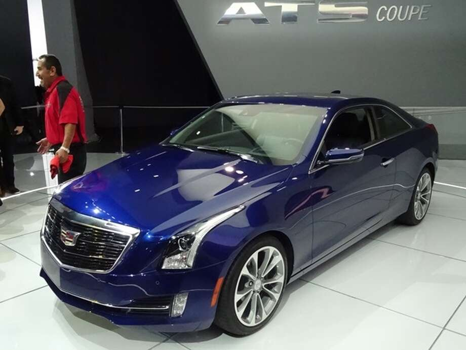 The 2015 Cadillac ATS Coupe Photo: Kelley Blue Book