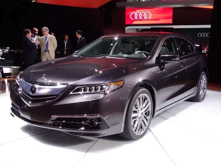 The 2015 Acura TLX Photo: Kelley Blue Book