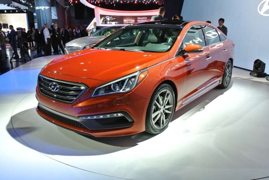 The 2015 Hyundai Sonata Photo: Kelley Blue Book