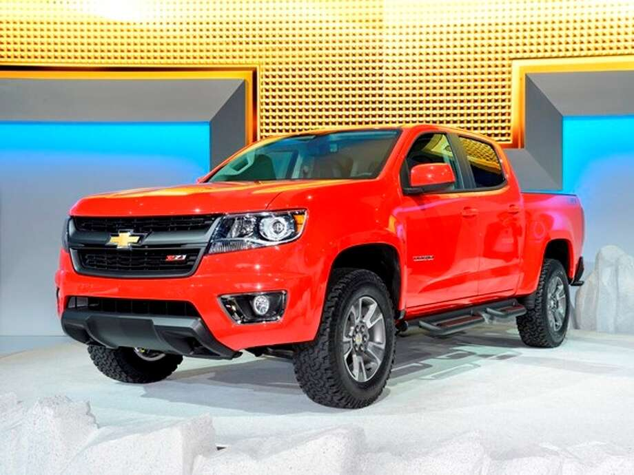 The 2015 Chevrolet Colorado Photo: Kelley Blue Book