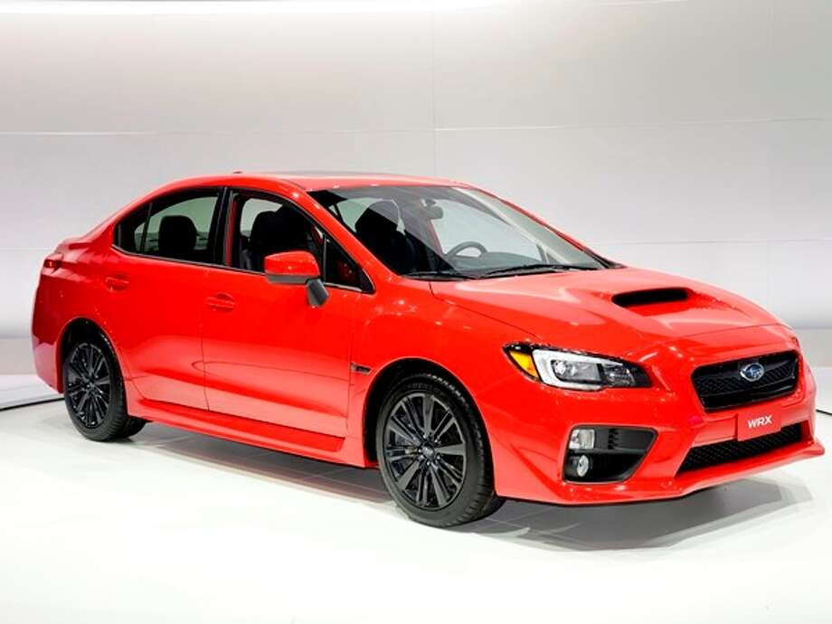 The 2015 Subabru WRX/STI Photo: Kelley Blue Book