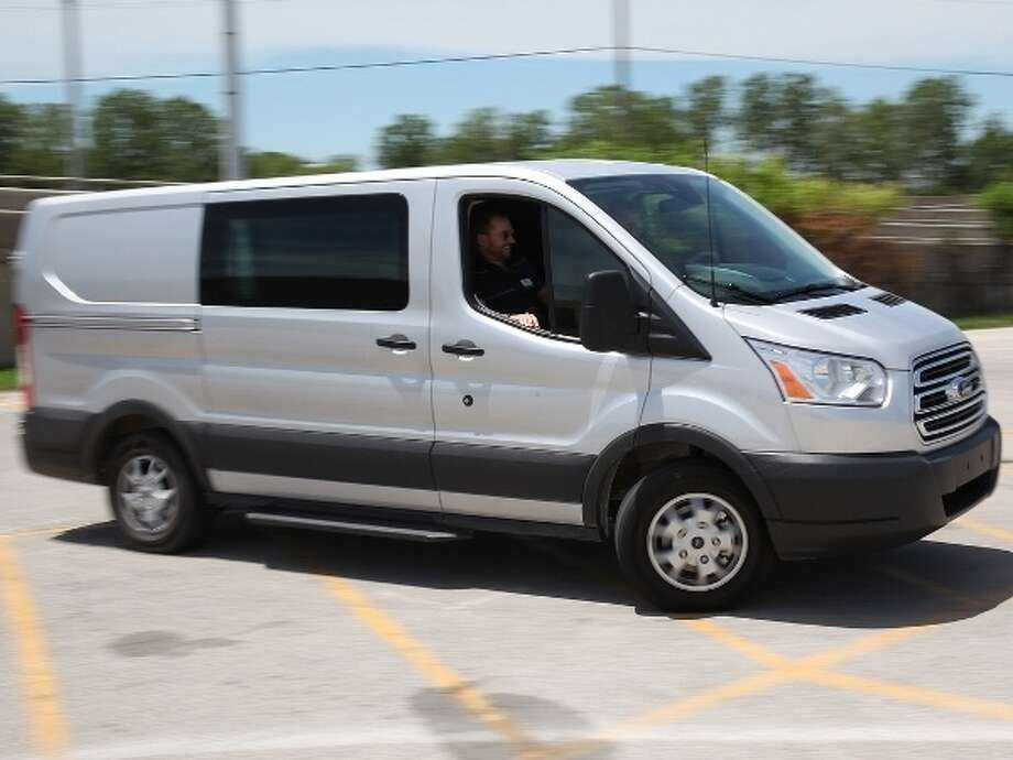 The 2015 Ford Transit 150 Wagon Photo: Kelley Blue Book