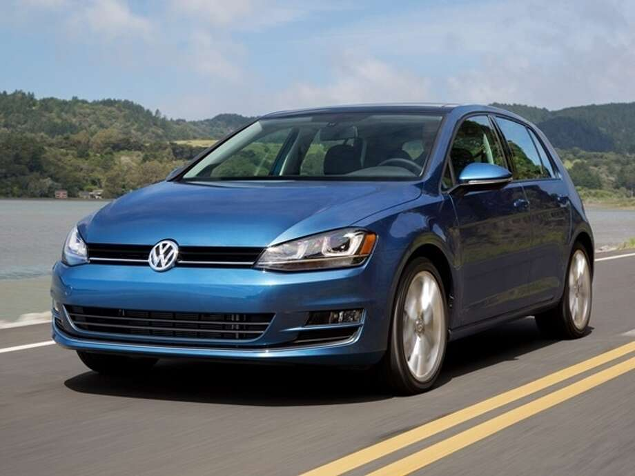 The 2015 Volkswagen Golf Photo: Kelley Blue Book