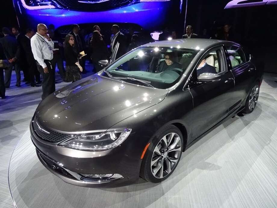 The 2015 Chrysler 200 Photo: Kelley Blue Book