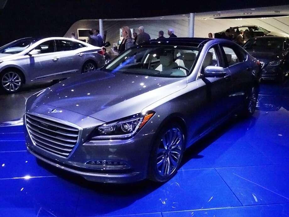 The 2015 Hyundai Genesis Photo: Kelley Blue Book
