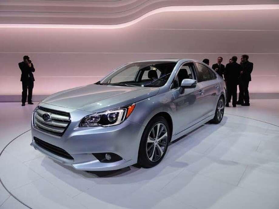 The 2015 Subaru Legacy Photo: Kelley Blue Book