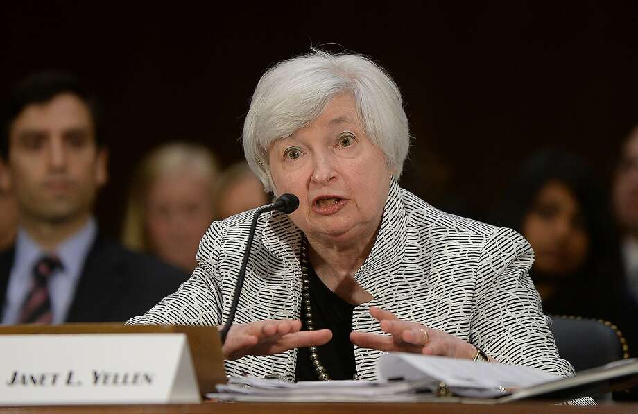 Fed Chairwoman Janet Yellen testifies before the Senate Banking Committee about the economy. Photo: Olivier Douliery, McClatchy-Tribune News Service