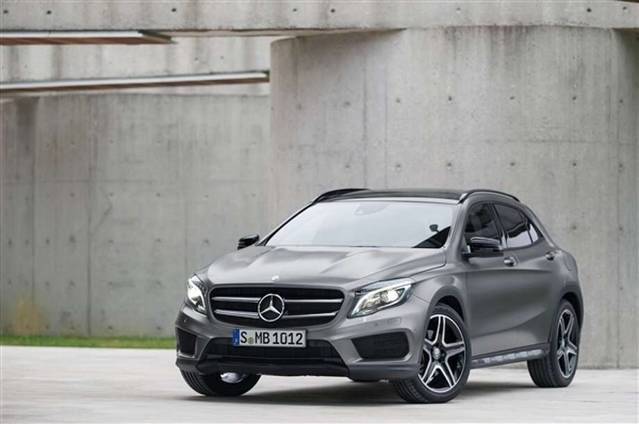 The 2015 Mercedes-Benz GLA-Class Photo: Kelley Blue Book