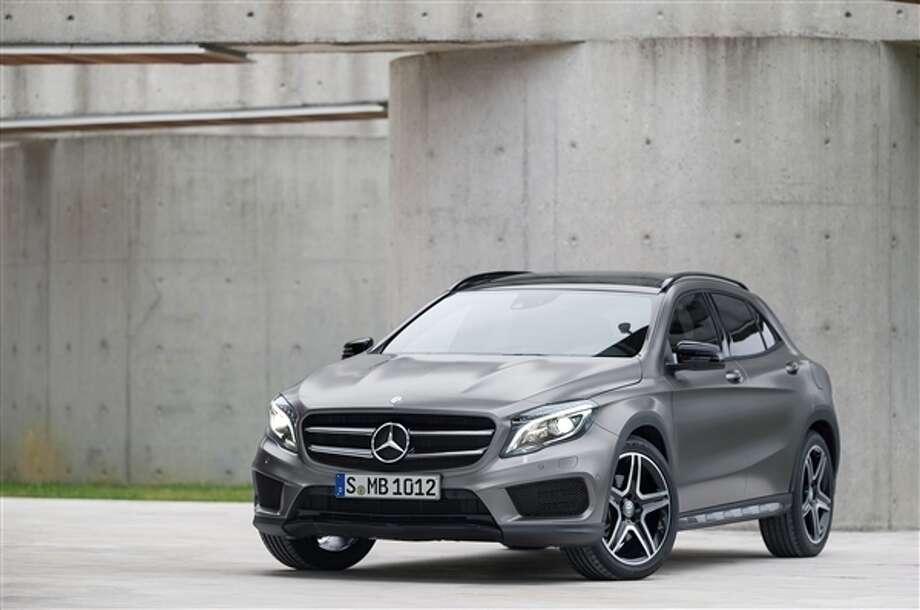 The 2015 Mercedes-Benz GLA-Class Photo: Kelley Blue Book