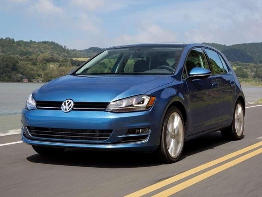 The 2015 Volkswagen Golf Photo: Kelley Blue Book