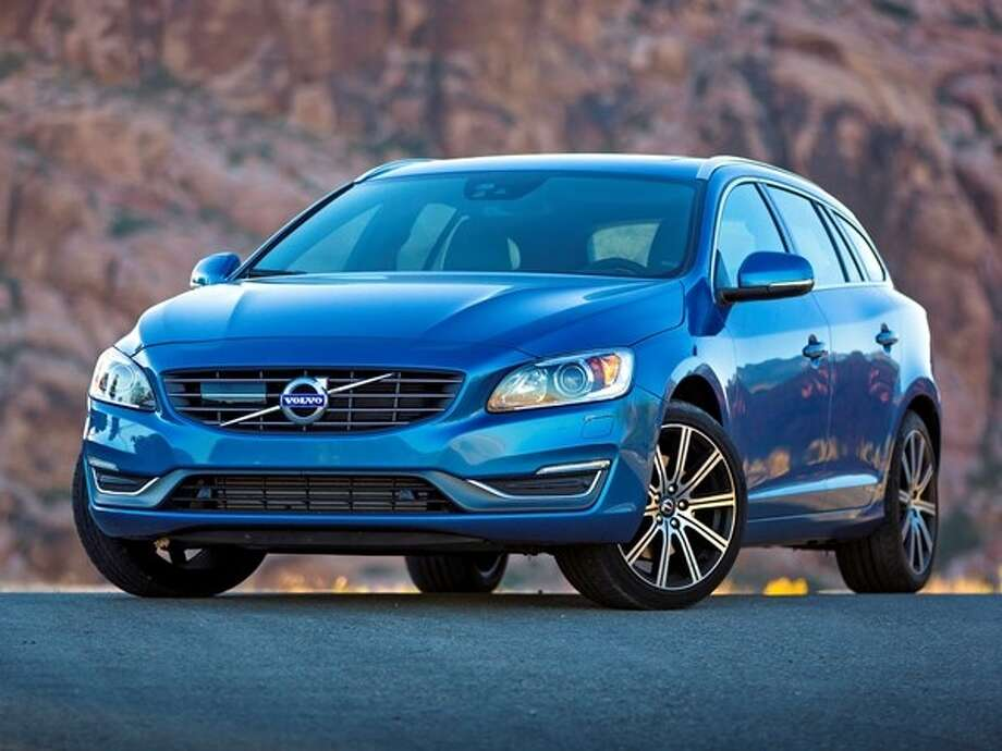 The 2015 Volvo V60 Photo: Kelley Blue Book