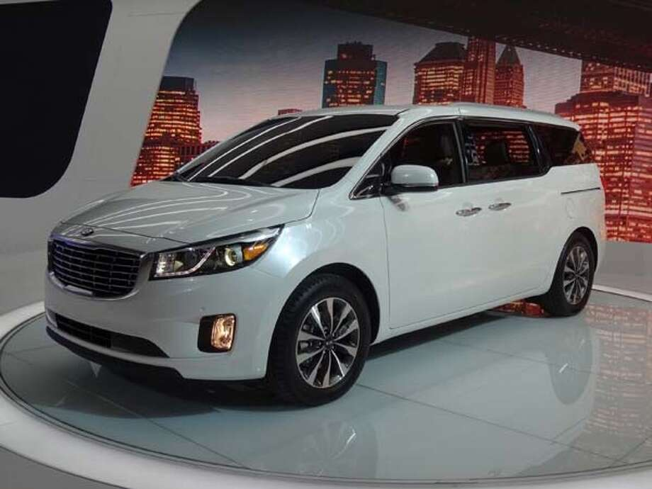 The 2015 Kia Sedona Photo: Kelley Blue Book