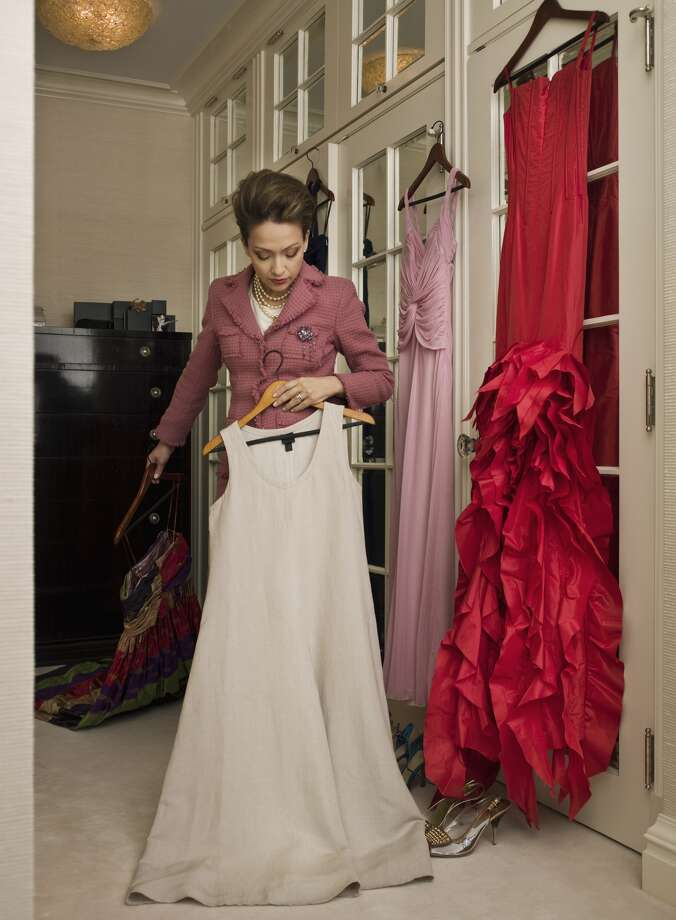 After their kids go off to college, society ladies use the spare bedrooms as closets for their evening gowns, which still fit. Photo: Erik Snyder, Stone Via Getty Images