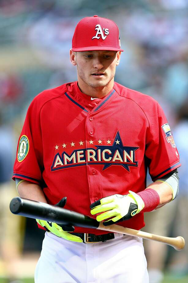 American League All-Star Josh Donaldson of the Oakland Athletics during batting practice before the 85th MLB All-Star Game at Target Field on July 15, 2014 in Minneapolis. Photo: Elsa, Getty Images