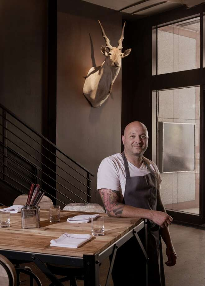 Chef Seth Greenburg of Springbok. (Photo: Jack Thompson)