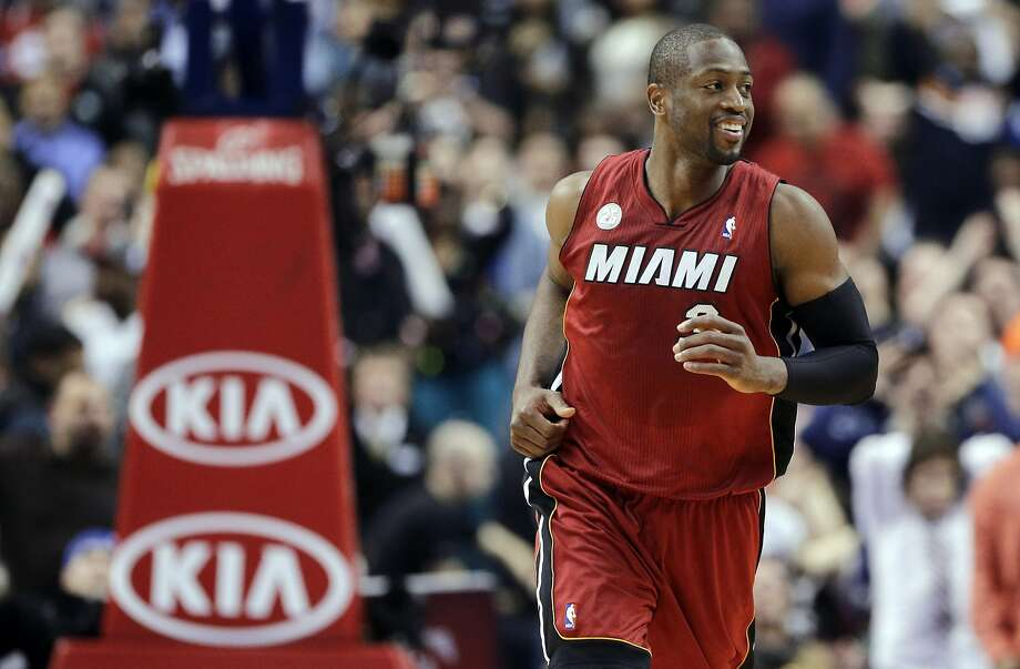 "Dwyane Wade used the term ""HeatLifer"" with his photo in a Twitter post. Photo: Matt Slocum, Associated Press"