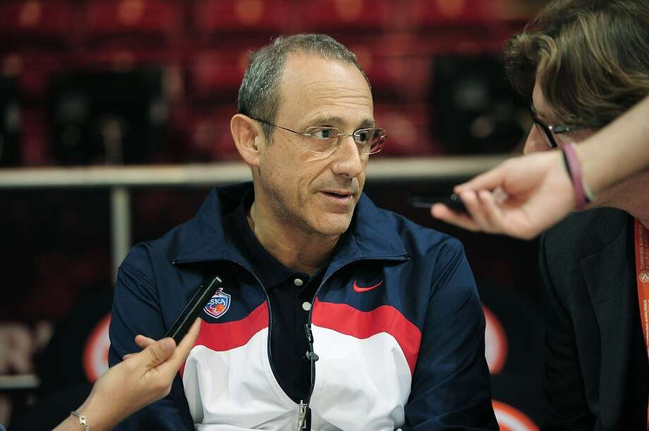Ettore Messina, Head Coach of CSKA Moscow during the Turkish Airlines EuroLeague Final Four CSKA Moscow Practice at Mediolanum Forum on May 17, 2014 in Milan, Italy. Photo: Francesco Richieri, EB Via Getty Images