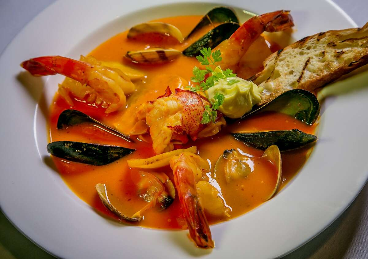 The Fish Stew at the Big 4 restaurant in San Francsico, Calif. is seen on Thursday, July 10th, 2014.