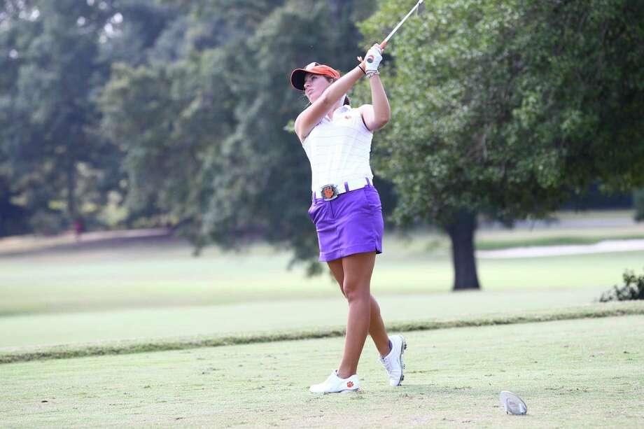 Clemson University golfer Ashlan Ramsey. (Rex Brown/IPTAY media)