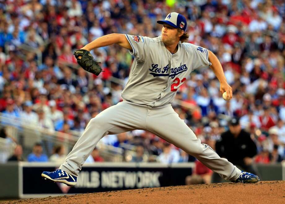 National League All-Star Clayton Kershaw #22 of the Dodgers pitches against the American League All-Stars. Photo: Rob Carr, Getty Images