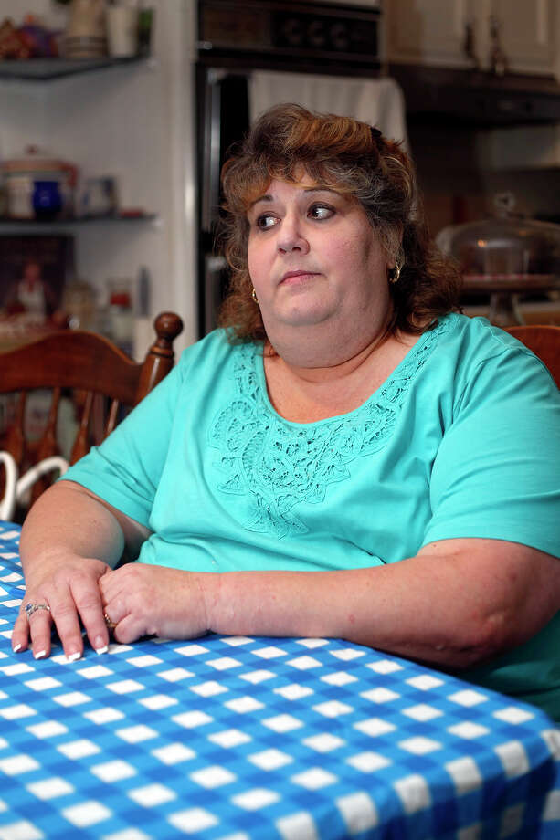 Valerie Riviello discusses how she felt the Veteran's Association is mistreating certain patients, inside her home on Tuesday, July 15th, 2014 in Clifton Park, N.Y.  (Tom Brenner/ Special to the Times Union) Photo: Tom Brenner / ©Tom Brenner/ Albany Times Union