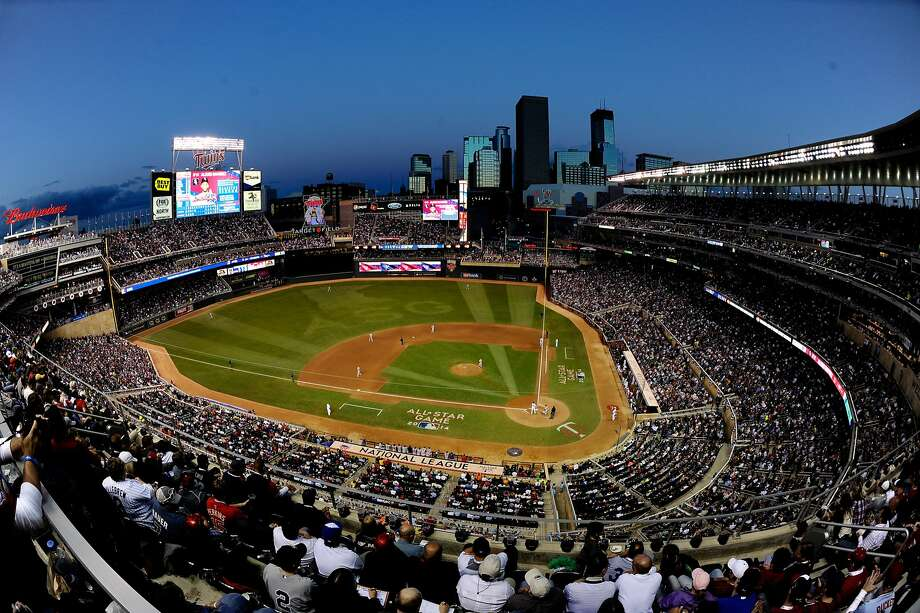 A general view during the 85th MLB All-Star Game at Target Field on July 15, 2014 in Minneapolis. Photo: Hannah Foslien, Getty Images